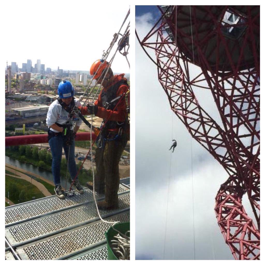 In 2 weeks today the amazing @RBRrecruitment team will abseil @AMOrbit for AFK Last 3 places left  http://www. chelmsfordweeklynews.co.uk/news/maldon/15 454153.Daredevil_recruiters_taking_on_abseiling_challenge_in_support_of_children_s_charity/?ref=rss &nbsp; …  #abseil <br>http://pic.twitter.com/2HqEBMEf2y