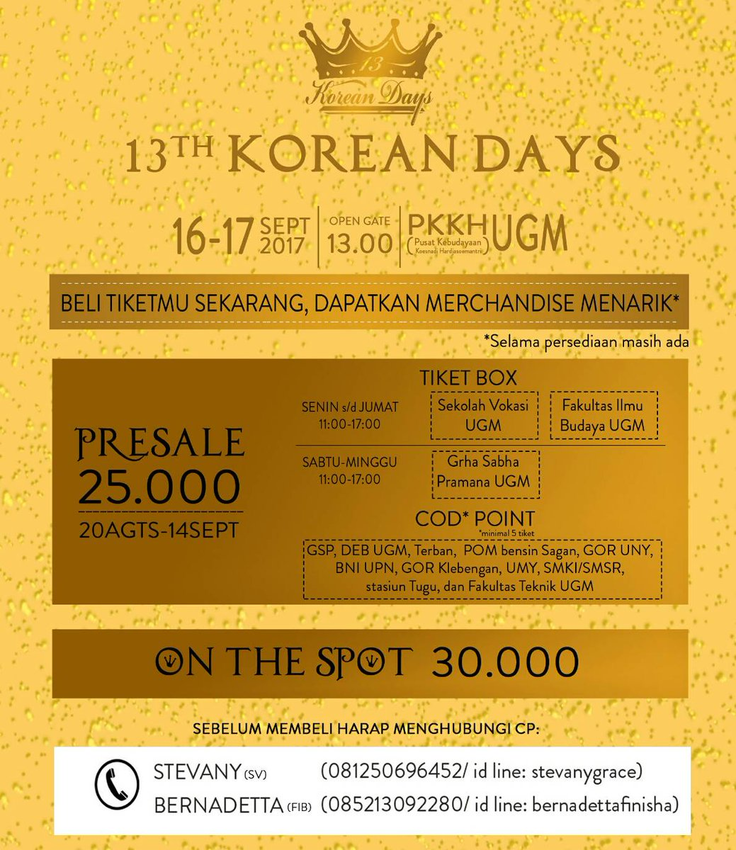 Korean Days UGM 2017 (saungkorea.com)