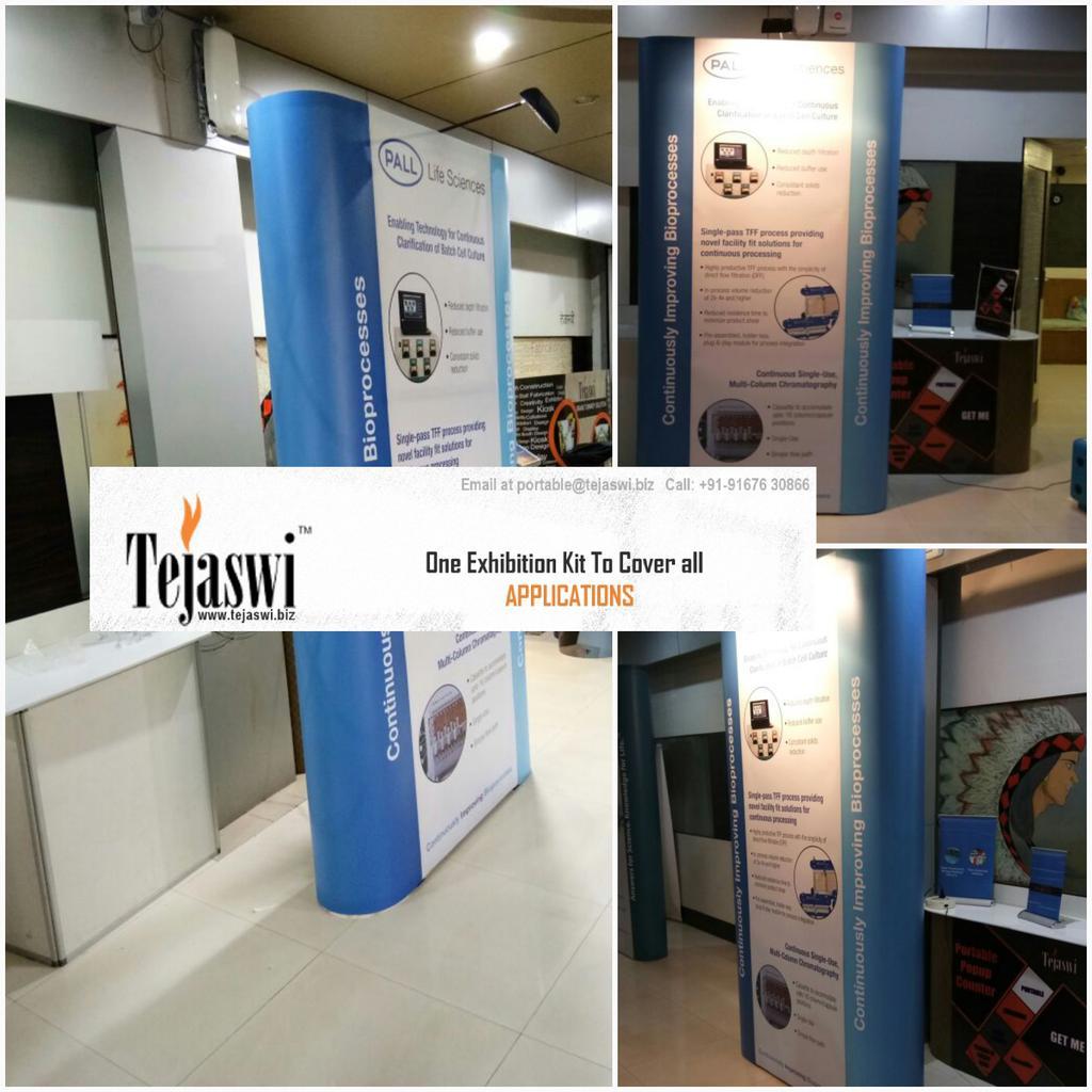 Portable Exhibition Kit : Portable exhibition kit modular display stands folding