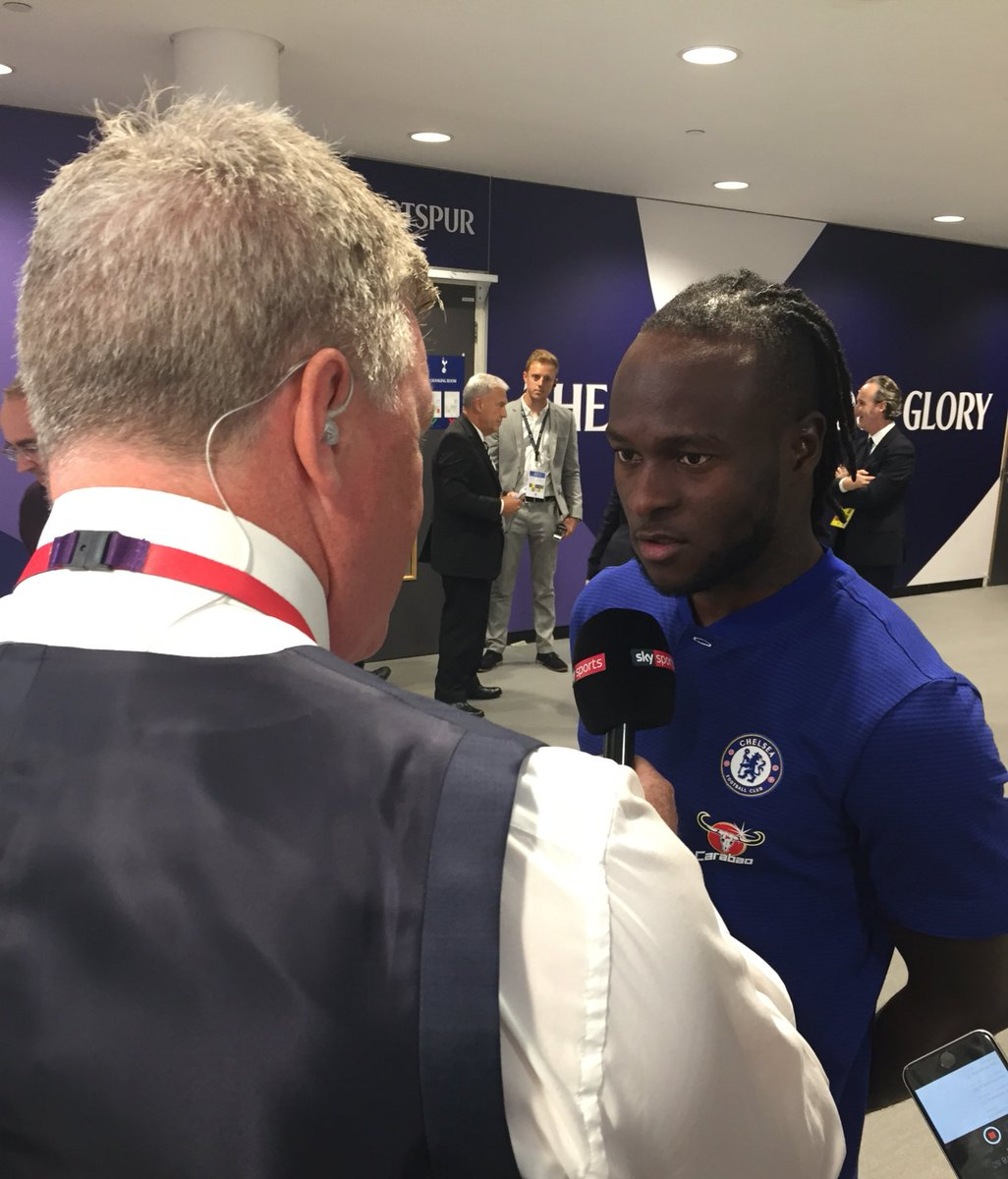 .@VictorMoses the man for the pre-match interview today... #TOTCHE htt...