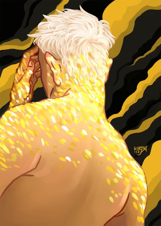 #DontWakeMeUp  I am dreaming of my #Darling #Taeyang&#39;s glittering sexy back in front of me  It&#39;s #amazing Fanart cr kirjoart <br>http://pic.twitter.com/PCyvvrM3Ut