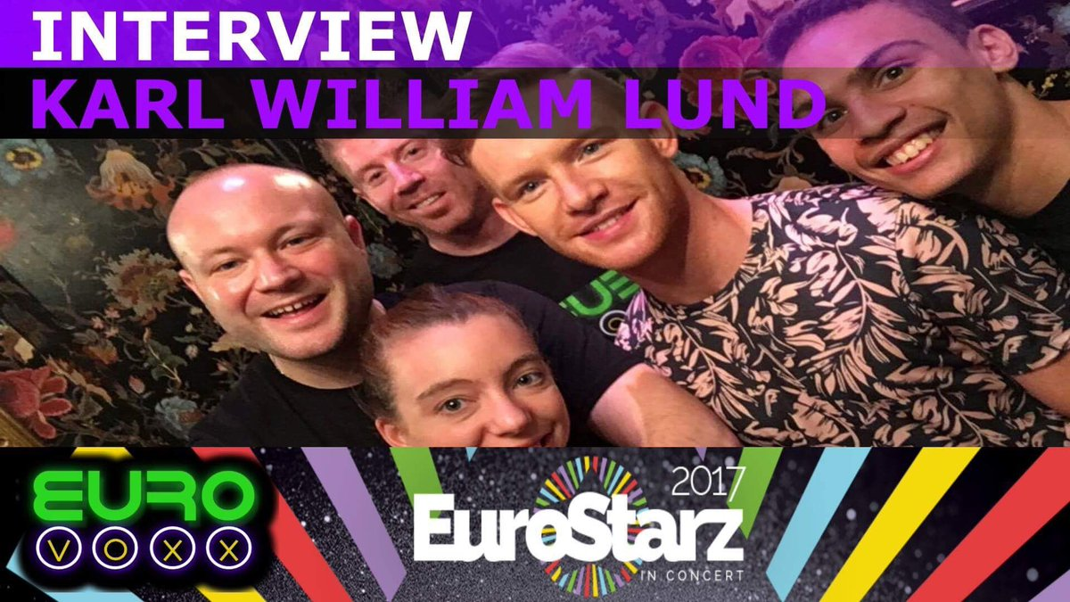Check out our interview with the fabulous @KarlWilliamLund at the @StarzConcert!!  https:// youtu.be/Fnu9FsgHmSs  &nbsp;   @YouTube #Eurovision <br>http://pic.twitter.com/JfT3791B90