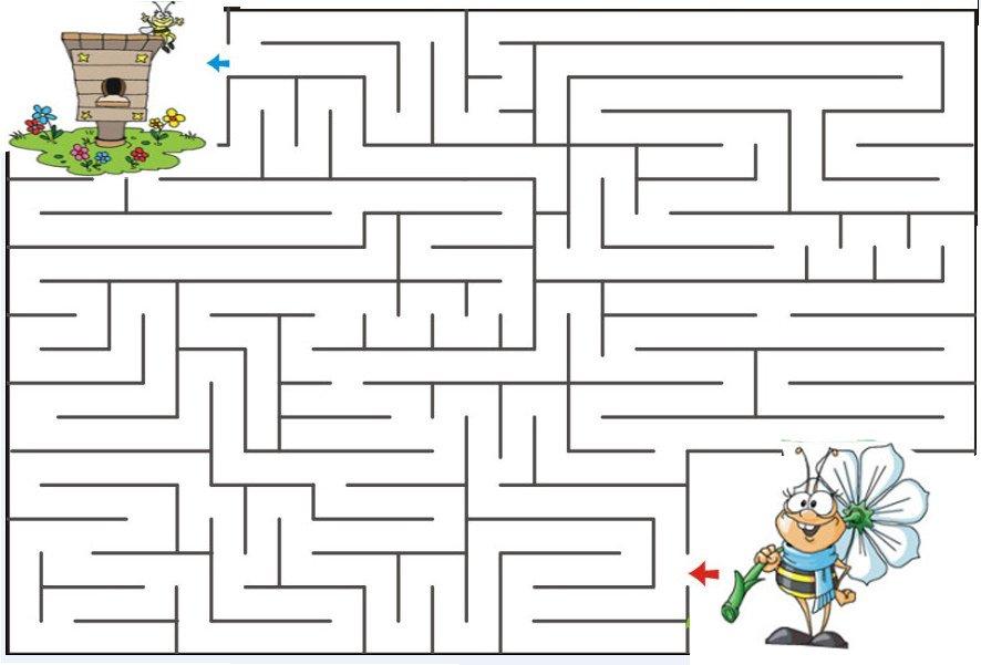Картинки для детей игры лабиринты