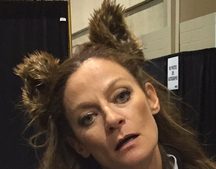 A Sunday #MichelleGomez appreciation tweet - because she is #inspirational #amazing #unstoppable #fearless #thebest <br>http://pic.twitter.com/3hG420kJ23