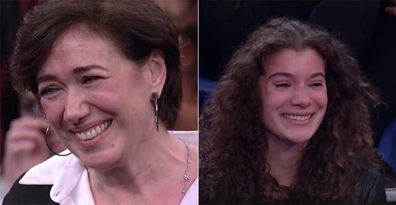 Lilia Cabral surpreende a filha com momento de sabedoria em programa de TV -> https://t.co/A177QzHbif