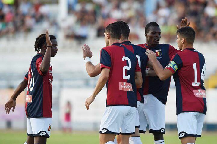 First game of the season 2017-2018 against Sassuolo ! Hope our team will do great this year  #SerieA #Calcio #Omgs #Genoa  @GenoaCFC<br>http://pic.twitter.com/FXVigYy6Us