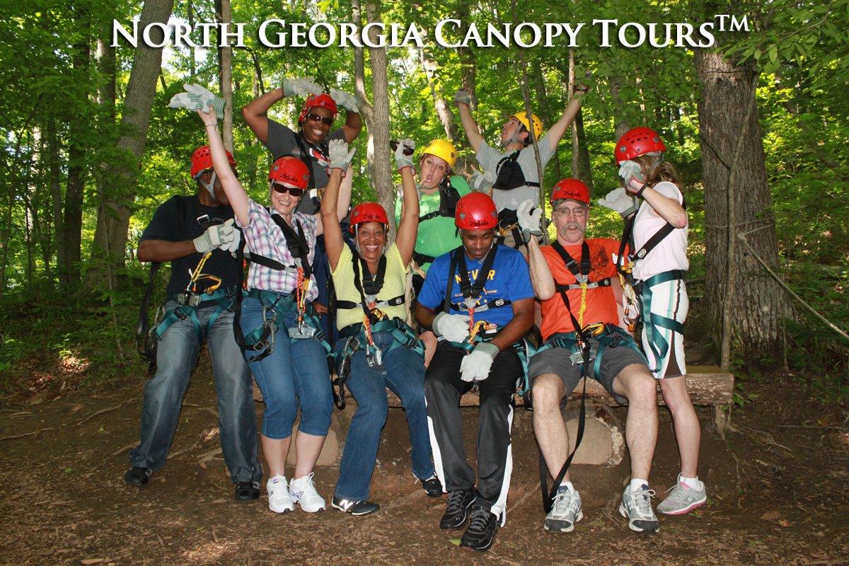 Shout!  #ziplines #teepees #glamping #hiking #teepees #adventure #zipp...