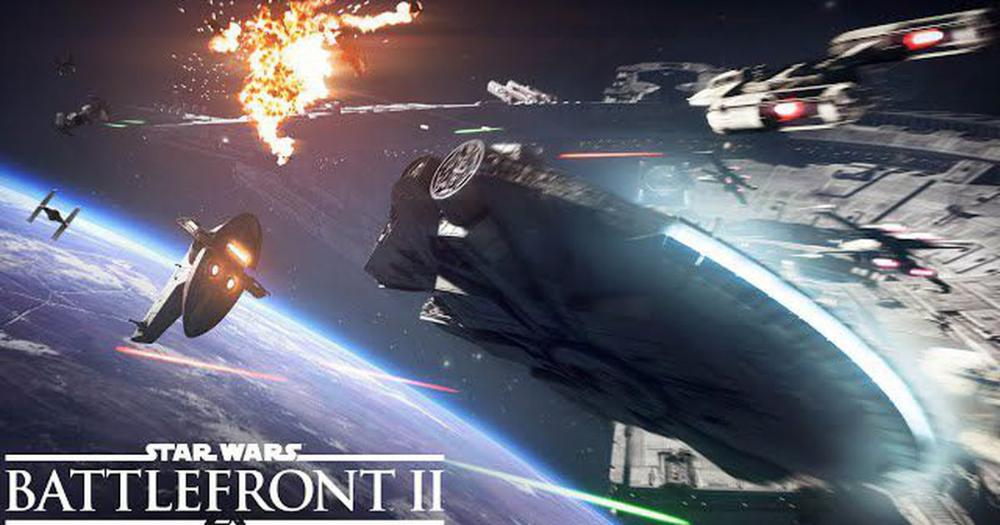 Space combat in Star #Wars: #Battlefront II looks #exhilarating  http:// on.mash.to/2vUMW4z  &nbsp;  <br>http://pic.twitter.com/PJ494UpLV0