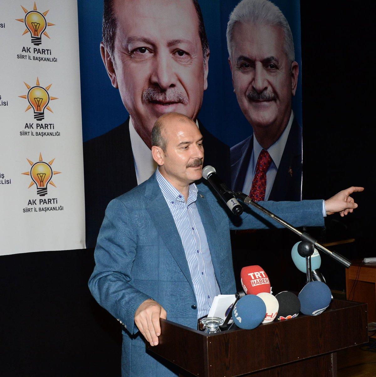 AK Parti Siirt İl Danışma Meclisi'nde teşkilatımız ve vatandaşlarımızl...