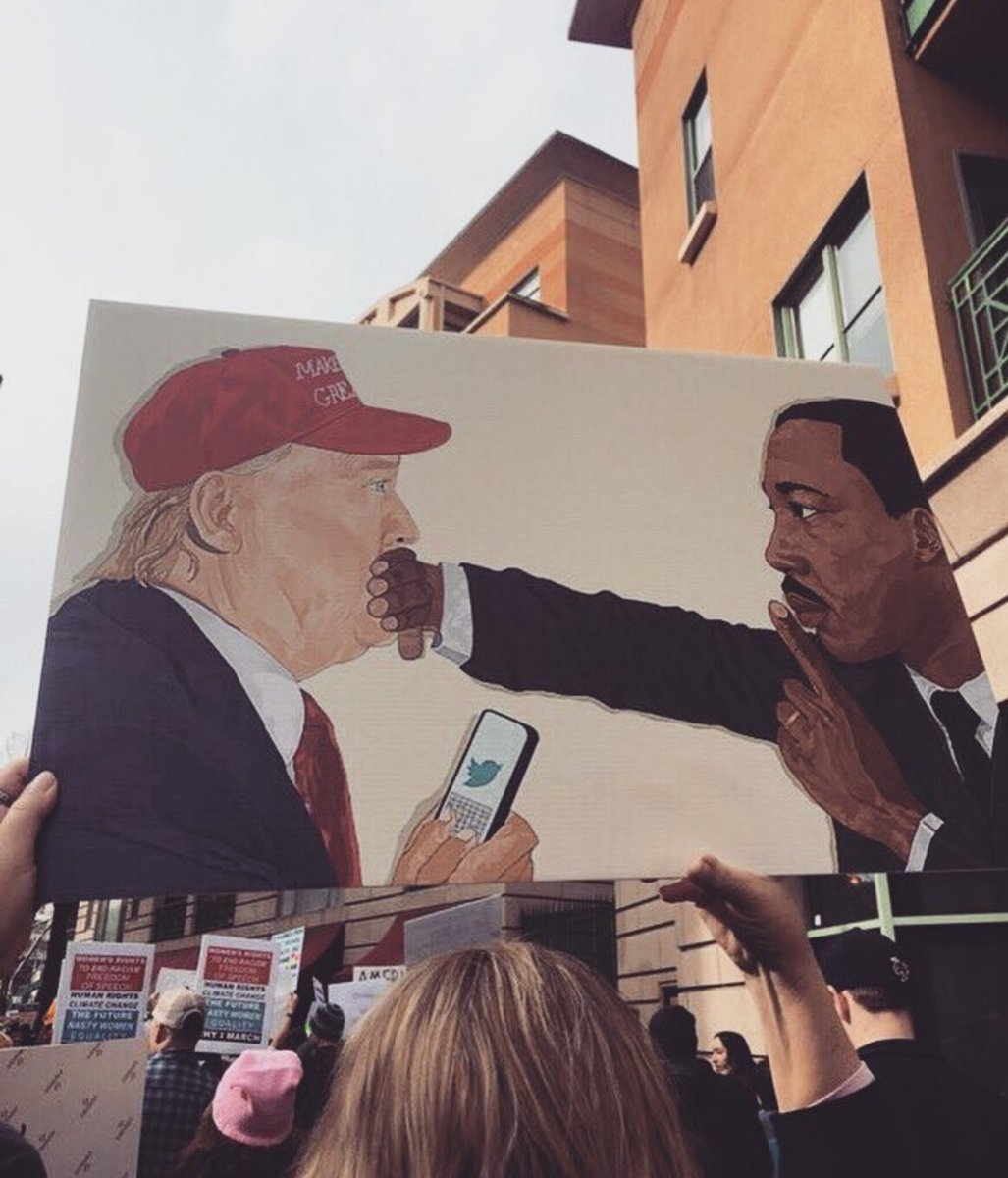 Terrific picture of ME! The other guy is Martin Luther King Jr. He is a great friend of mine which PROVES I am NOT a racist!! #SundayMorning <br>http://pic.twitter.com/70jSeRUzDb