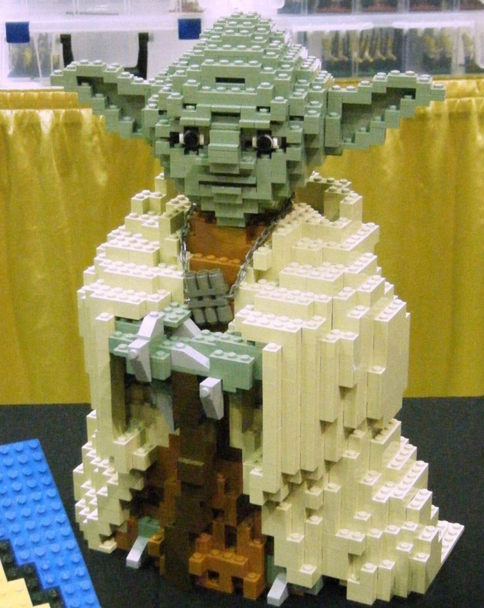 MADE OF LEGOS I AM...#Yoda #StarWars <br>http://pic.twitter.com/U01zQDVmpx