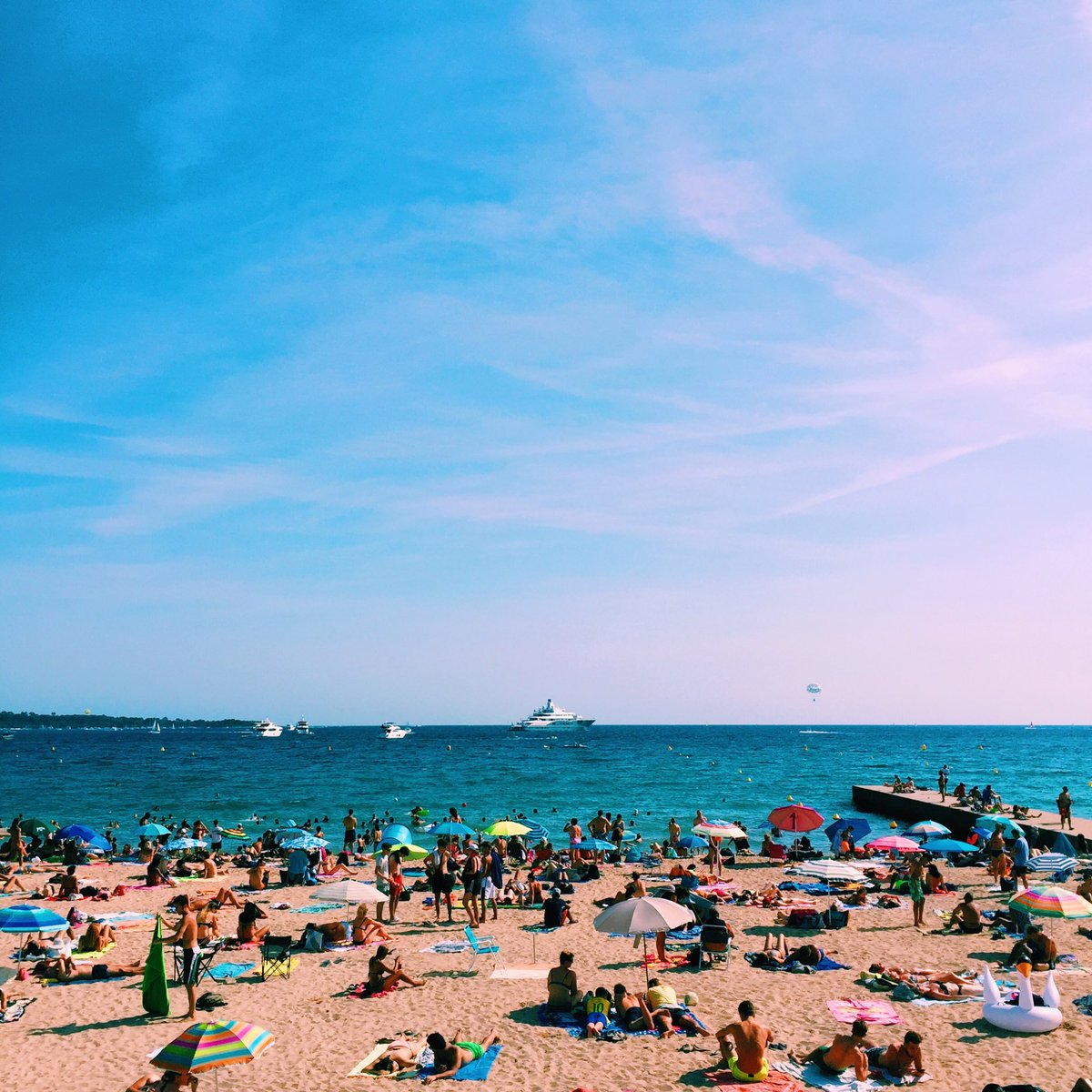 A beautiful Sunday in #Cannes, just how we like them !  #cannesisyours #cotedazurnow @davidlisnard @villecannes @CannesIsYours<br>http://pic.twitter.com/z6NhfotARg