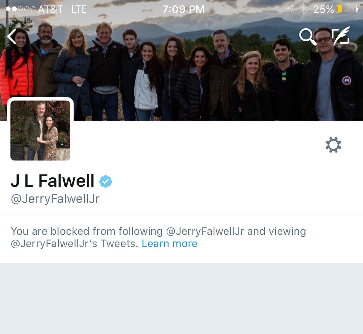 Jerry Falwell, Jr. is a charlatan. https://t.co/4LEmJBKOfh