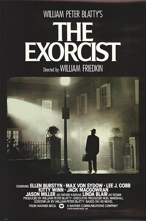 Fantastic classic #movieposter! One of @kevin_sluder&#39;s faves :) #TheExorcist #SupportHorror #supporthorror<br>http://pic.twitter.com/kFIJ5dm8BQ