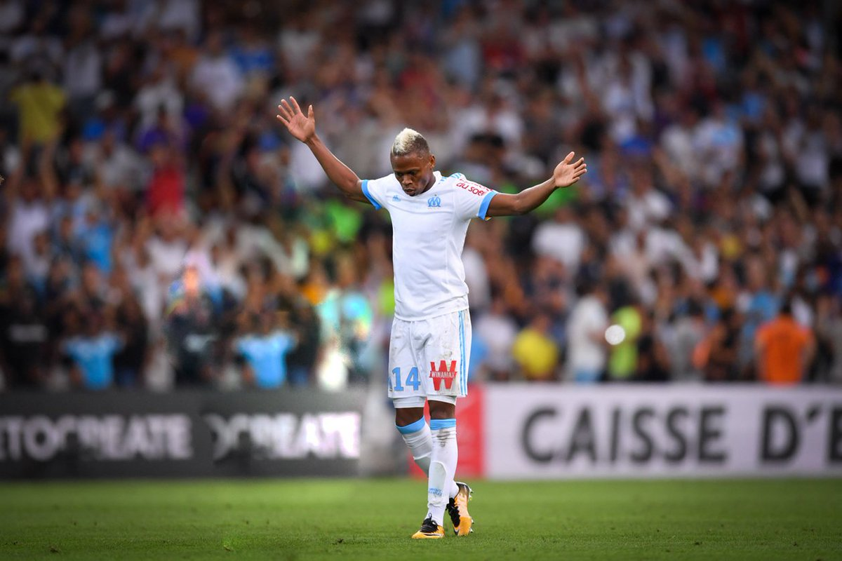 17'  OUVERTURE DU SCORE de Clinton N'Jie !   #OMSCO 1⃣-0⃣ https://t.co...