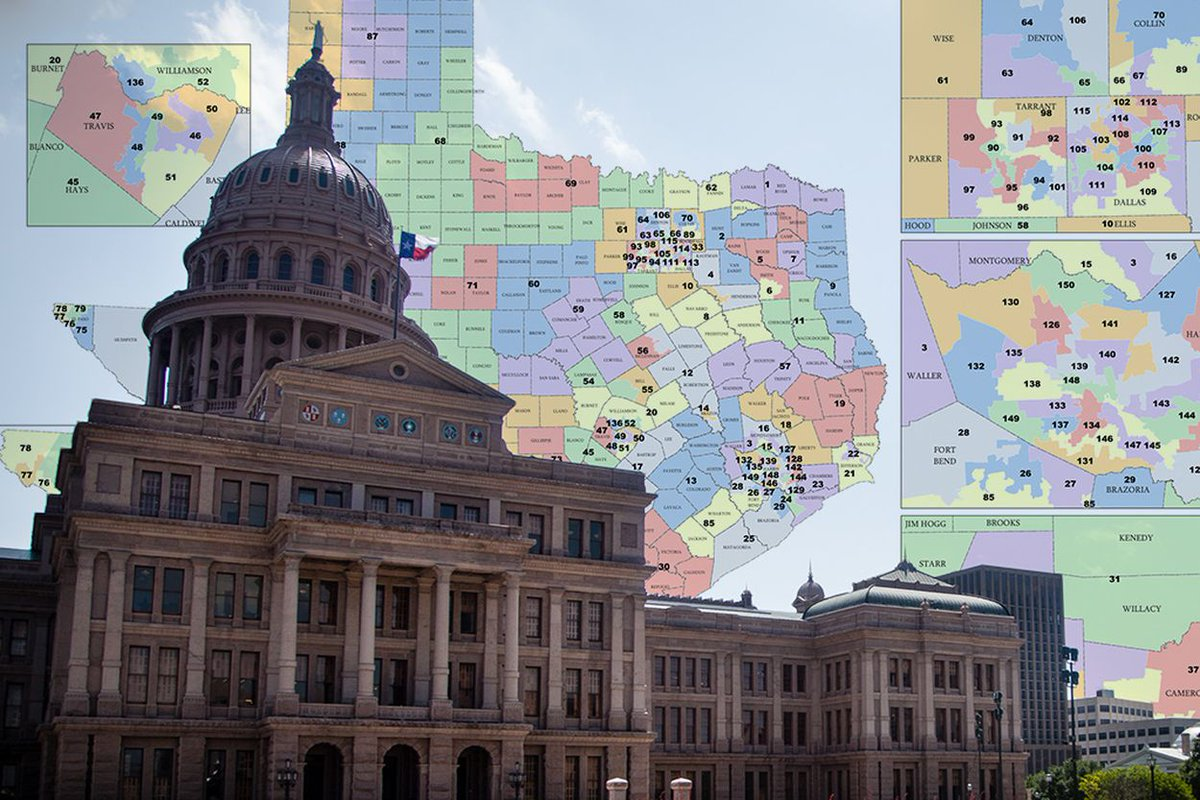 Federal judges have invalidated part of Texas congressional map. https://t.co/sQpFVpTqSC