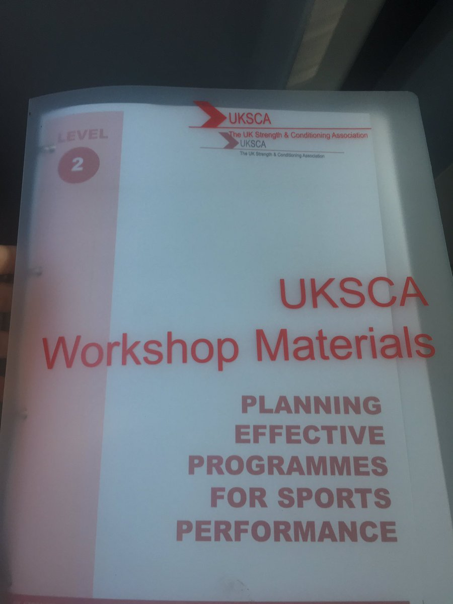 Great weekend of learning on the @UKSCA planning for sports performance workshop. Now to apply and integrate. #prep #plan #goals #achieve<br>http://pic.twitter.com/EsdGMpsG7K