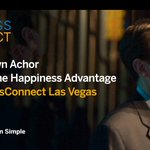 Author @shawnachor will discuss the connection between happiness & success at #SConnect17 Las Vegas. Tune in: https://t.co/3KhlgFapRO