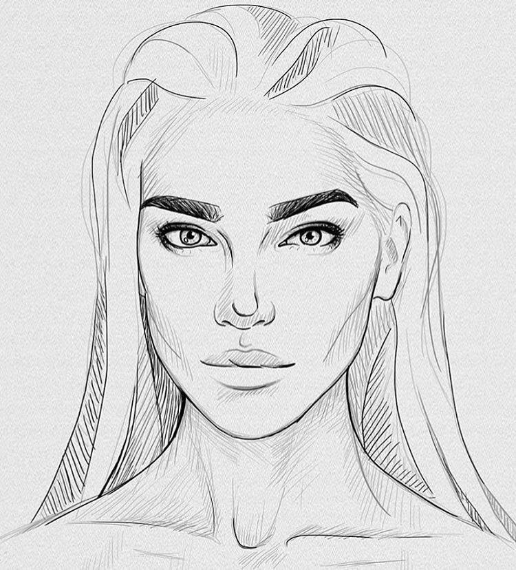 drawings of people - 670×743
