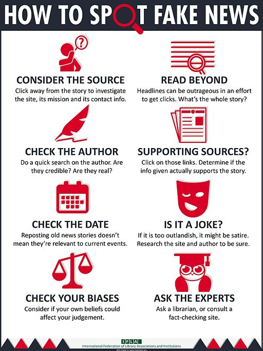 """Report From IFLA: """"Real Solutions to Fake News: How Libraries Help"""" https://t.co/RiPmFxL6RS https://t.co/egTHm9rUkQ"""