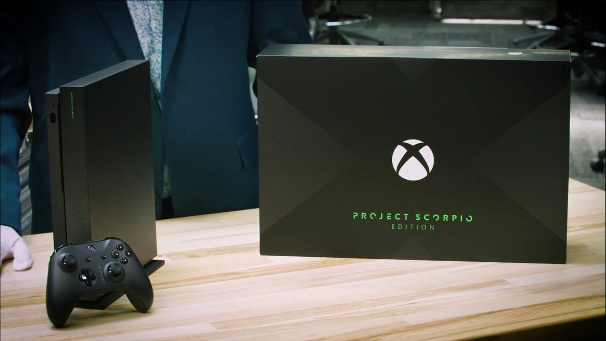 ICYMI: Here's the unboxing of the #XboxOneX Project Scorpio Edition!...