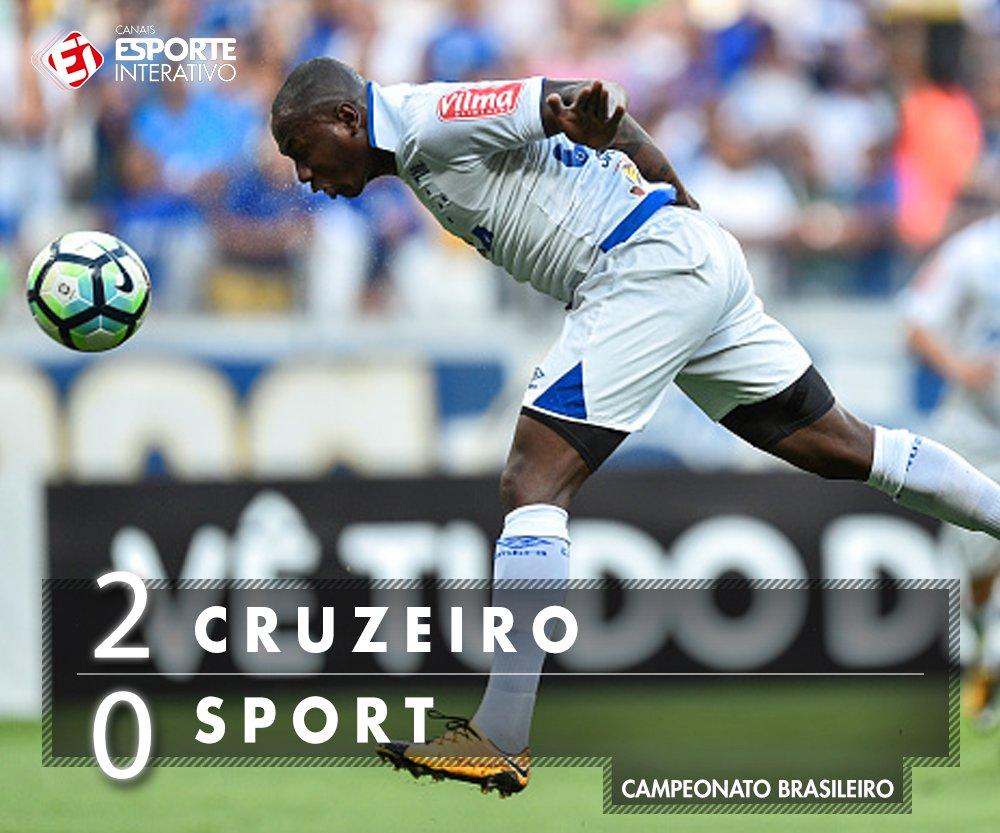 FIM DE PAPO! Com gols de Sassá e Raniel, o @Cruzeiro bateu o @sportrec...
