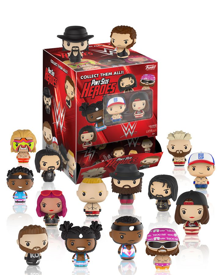 RT & follow @OriginalFunko for the chance to win a box of WWE Pint...
