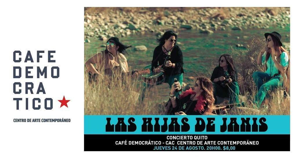El Jueves!  Café Democrático - CAC Presenta La Hijas de Janis #Concier...