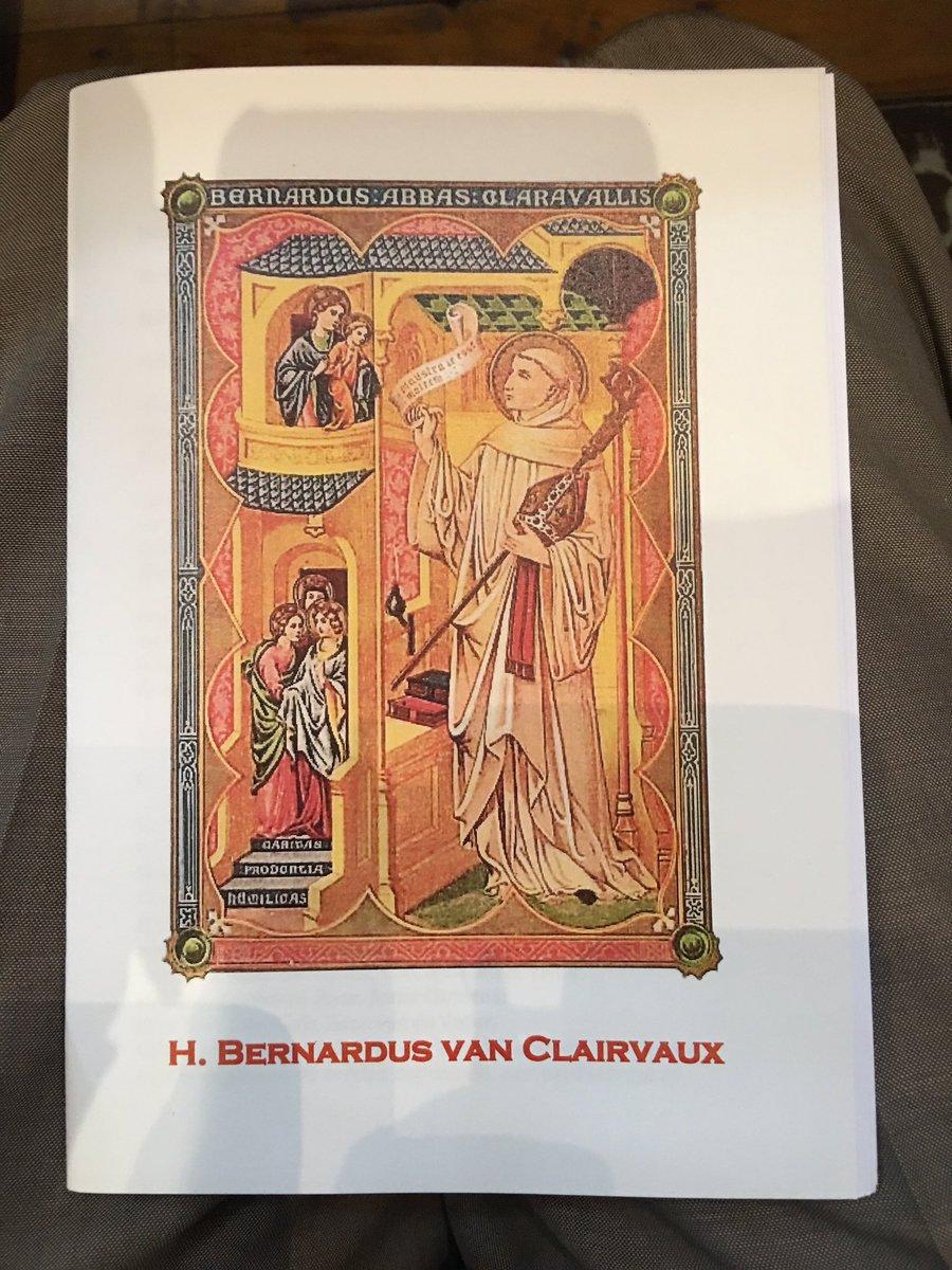 Peter Ambags On Twitter Heilige Bernardus Van Clairvaux