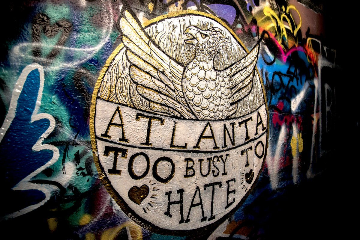 PHOTOS: Here&#39;s a look at some of the murals painted inside the Krog Street Tunnel during Friday&#39;s #PaintForPeace event. @FOX5Atlanta #ATL <br>http://pic.twitter.com/EhH14Hx5au
