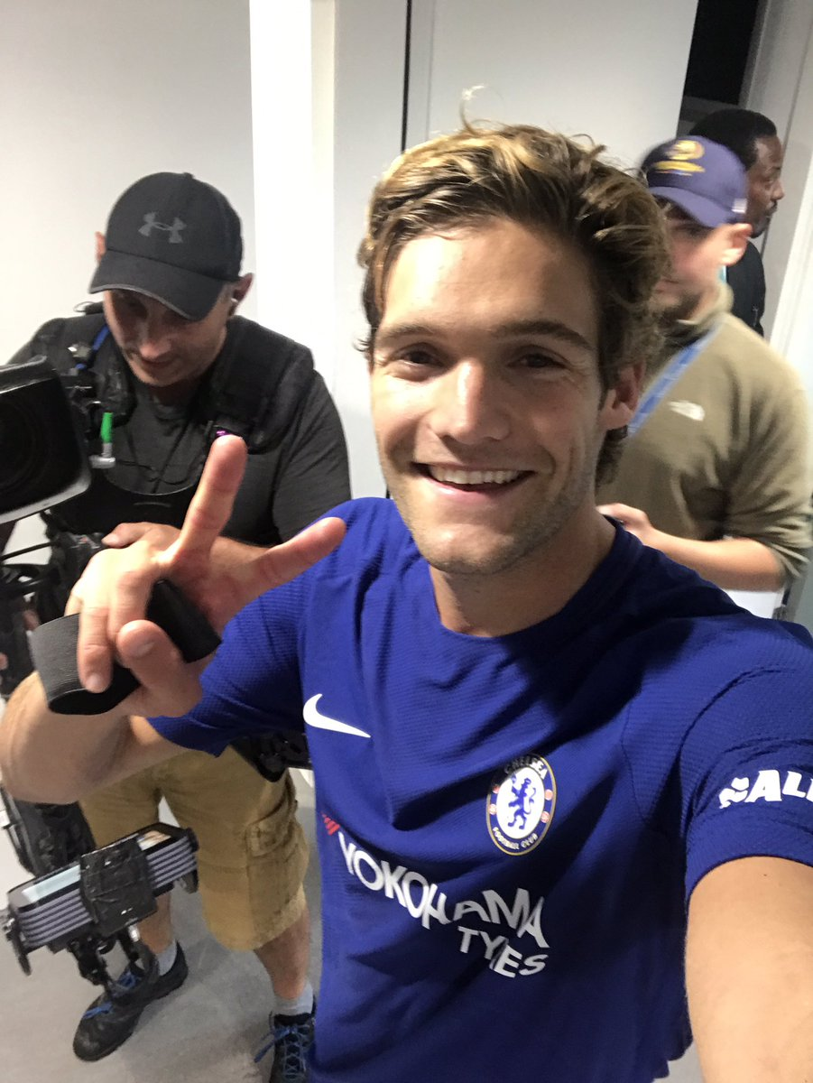 How many goals today, @marcosalonso03? 😉 #TOTCHE https://t.co/U0QrGWE8...