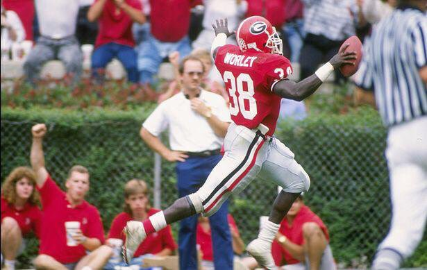 In 1988, #UGA great Tim Worley rushed for 1,216 yards & 17 TDs.  #38 just joined us on @DawgPodcast…will be a special episode. Airs Tuesday.