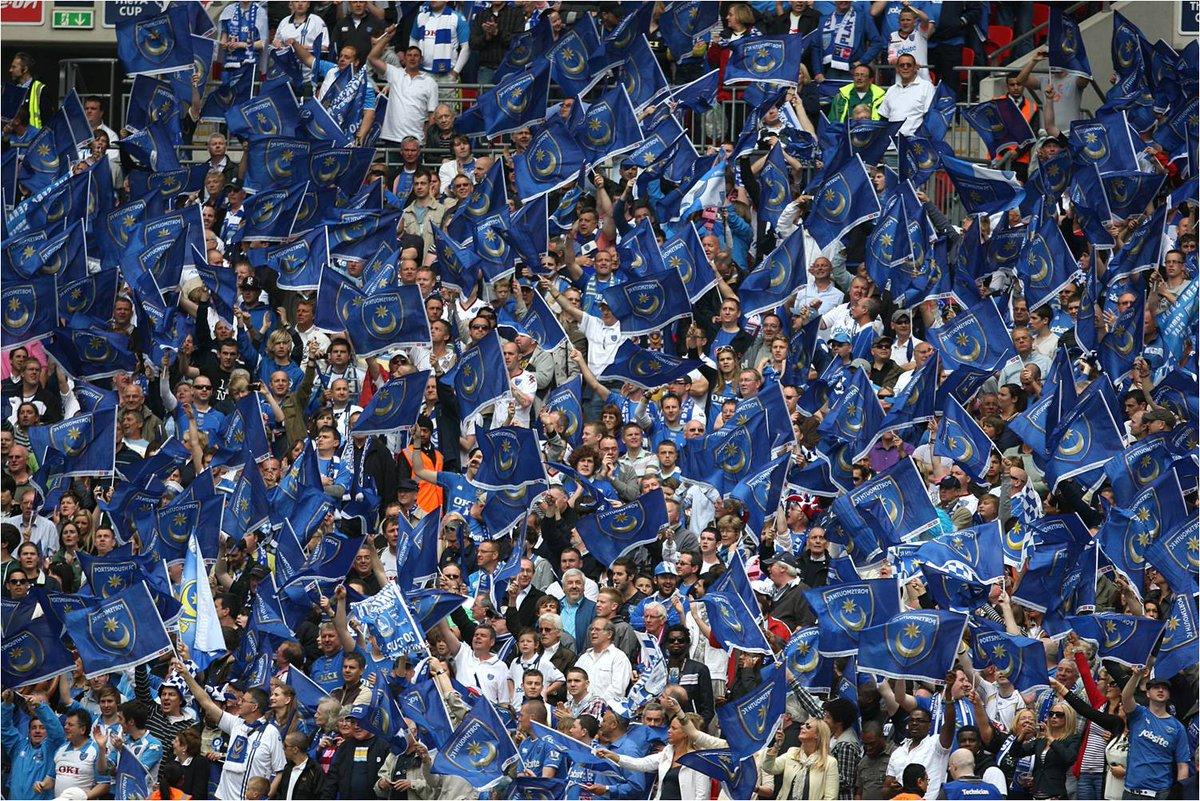 Attendance at Wembley...  Tottenham v Chelsea: 73,587  Portsmouth v Cardiff: 89,874  STILL the largest 👏  #Pompey #Bluebirds