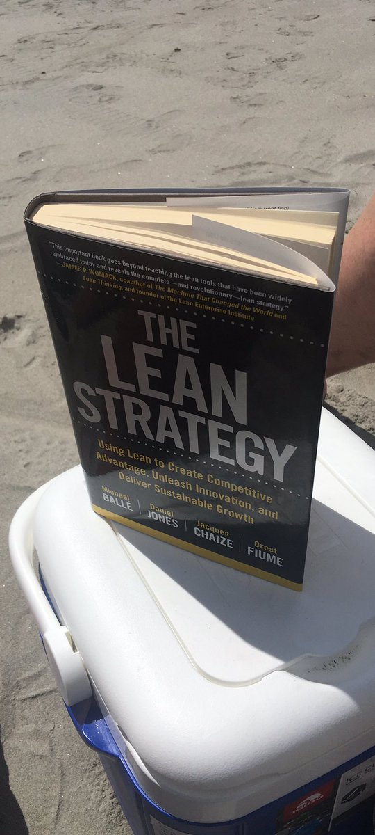 My beach reading. What&#39;s yours?  @HCValue @LeanDotOrg #lean <br>http://pic.twitter.com/YeeXyIZiPC