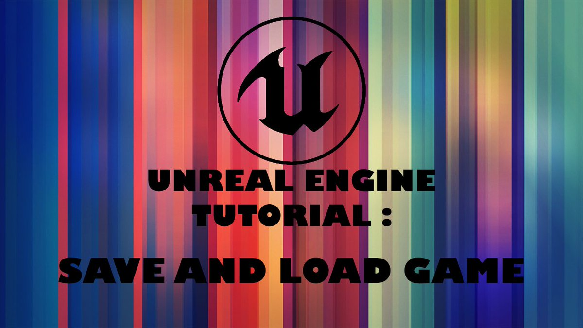 UNREAL ENGINE 4 TUTORIAL SAVE AND LOAD MULTIPLE SLOTS    https:// youtu.be/_s7wSf27tm8  &nbsp;    #unreal #UnrealEngine #Episodes #Epic #indiedev #gamedev<br>http://pic.twitter.com/aZbqC075xv