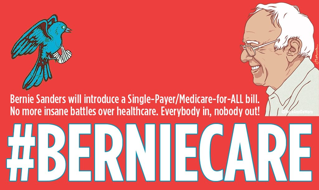 #SundayMorning There&#39;s a fresh batch of online trolls hired by Democratic think-tanks to stop #MedicareForAll Don&#39;t let them win. <br>http://pic.twitter.com/nD726lGYcV