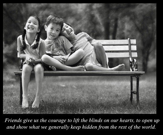 Friends give us the courage to...       #friendship #BFF #courage #friends #kindness #BeThere  #trust #ThinkBIGSundayWithMarsha<br>http://pic.twitter.com/9OThlH3vmj