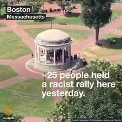 Love trumped hate in Boston yesterday. h...