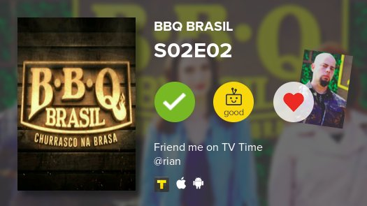 I've just watched episode S02E02 of BBQ...