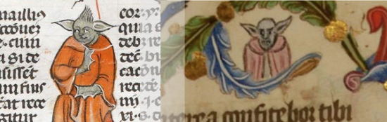 A Yoda like creature appeared over 500 years ago in medieval texts (14 C.). #starwars <br>http://pic.twitter.com/TyAHyfOqff