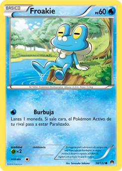 &quot;BELIEVE IN THE HEART OF THE CARDS&quot;   #pokemontcg #pokemonjcc #pokemoncards #playpokemon #froakie #bubble <br>http://pic.twitter.com/6VbCHV4V0n