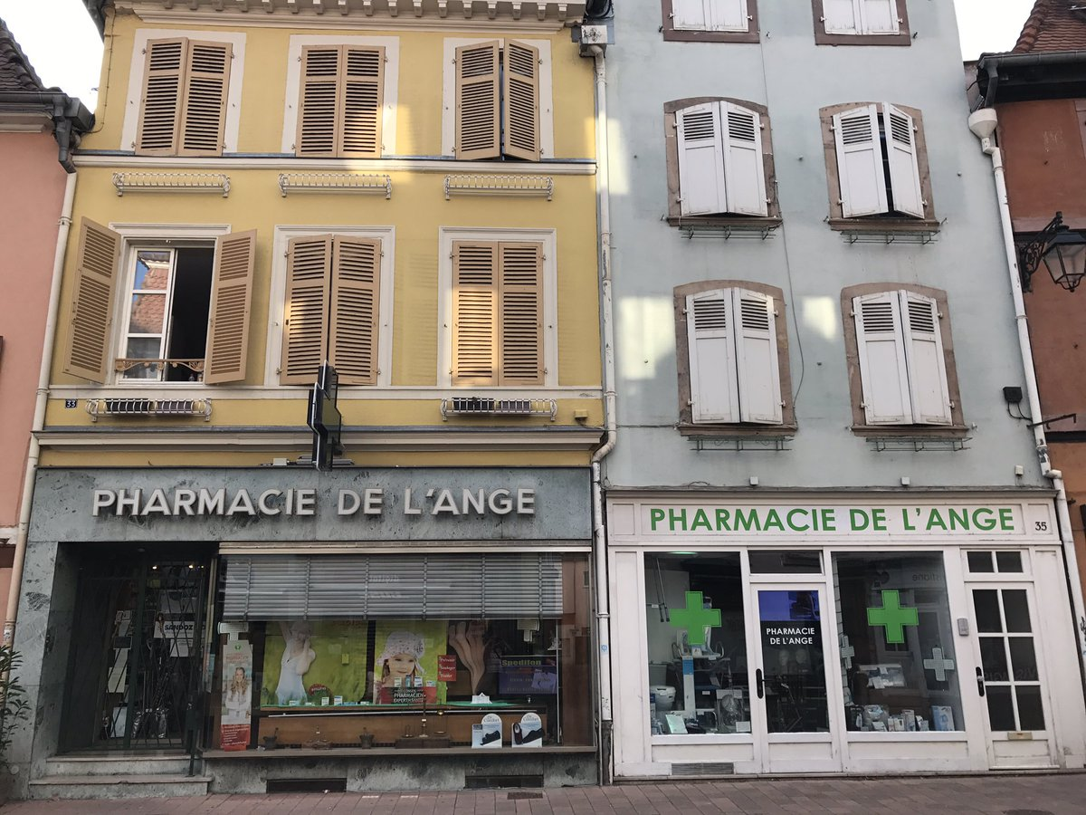 Does your Guardian Angel work in #Colmar at #Pharmacie de l&#39;Ange?  May be in #Strasbourg? @1Jour1Pharmacie<br>http://pic.twitter.com/qxkcGsoMQg