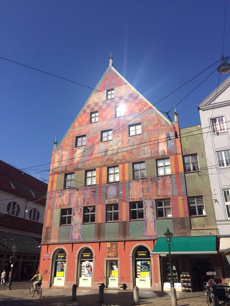 #Augsburg #Germany Today was one of the most exciting days in Augsburg!<br>http://pic.twitter.com/JA8o3oNpow