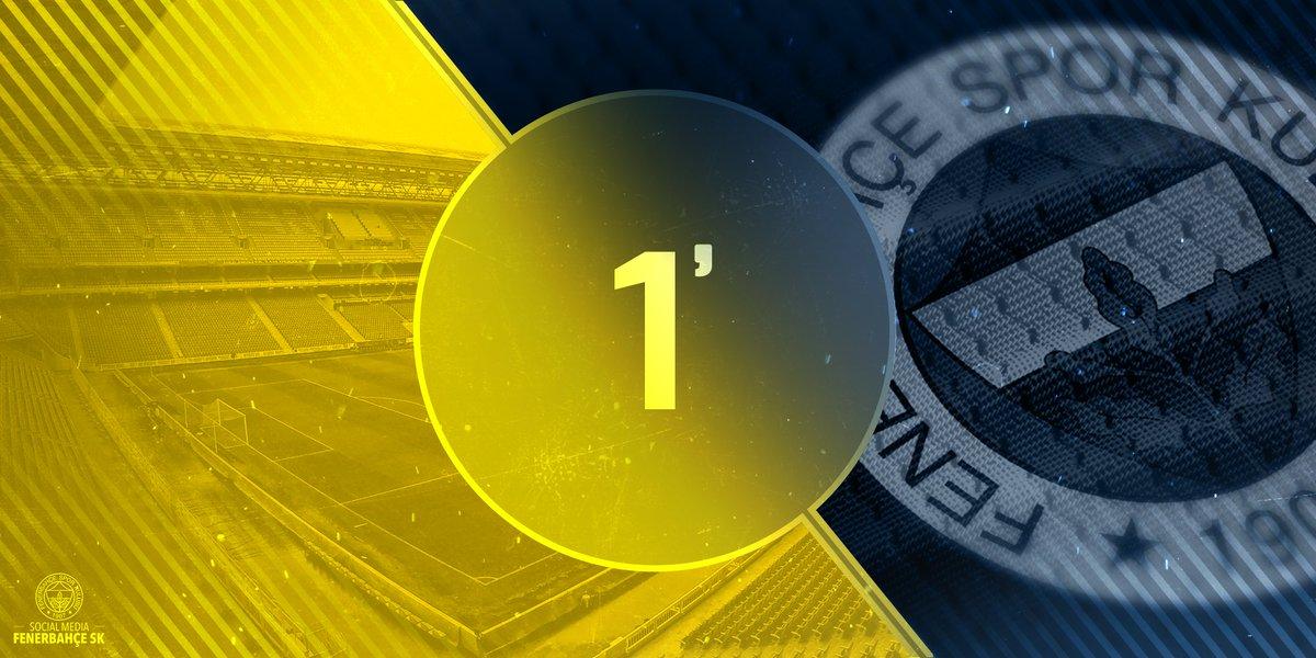 Mücadele başladı. Haydi #Fenerbahçe! #FB...