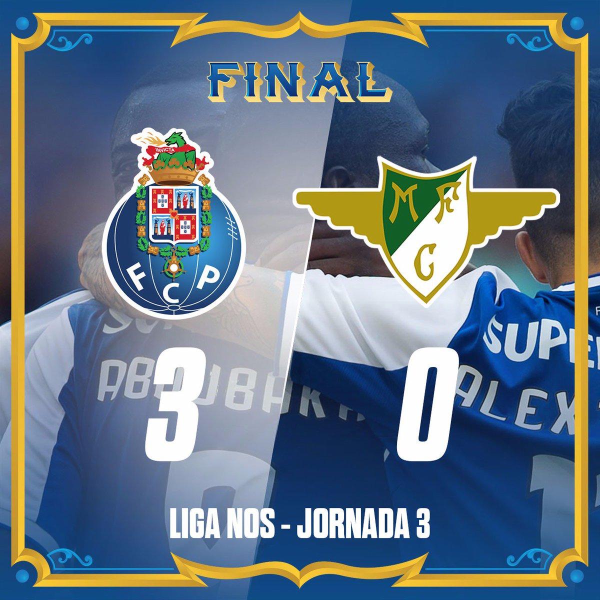 Marcadores dos golos/ Scorers/ Marcadores de los goles  18' [1-0] Aboubakar ⚽ 22' [2-0] Aboubakar ⚽ 77' [3-0] Aboubakar ⚽  #FCPorto #FCPMFC