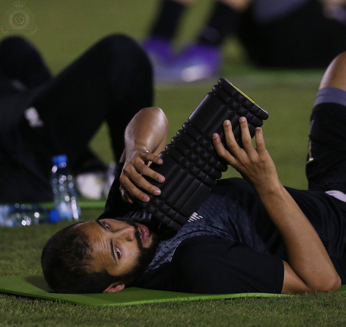 صــور من تدريبات #النصر اليوم الأحد  1-3...