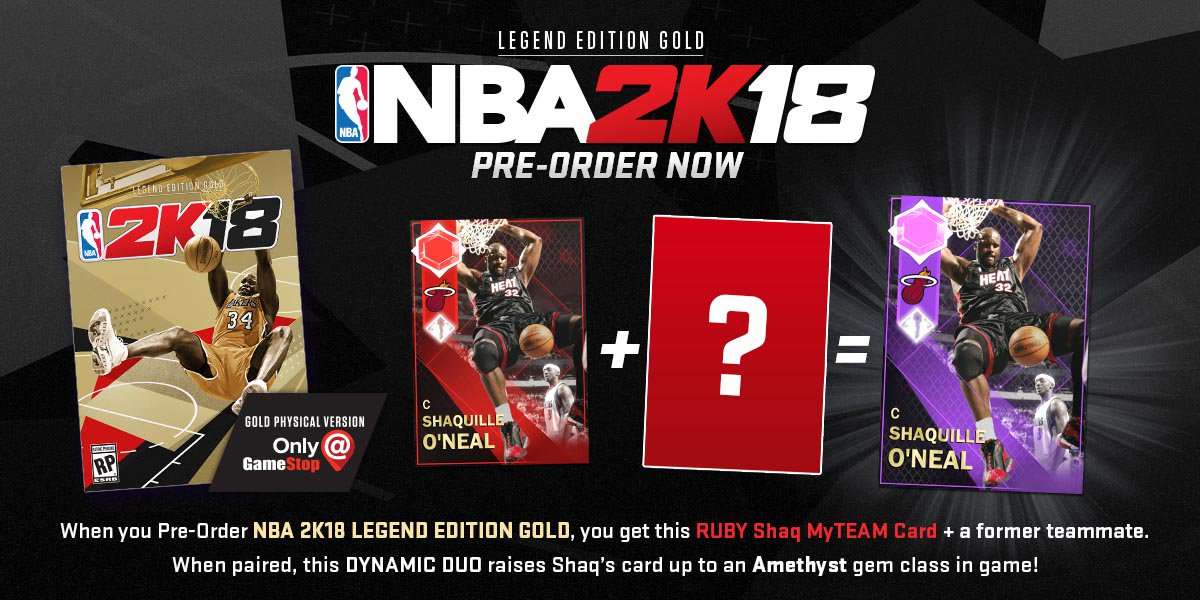 DiscussionDynamic Duos might actually change the card color in NBA 2k18 ...