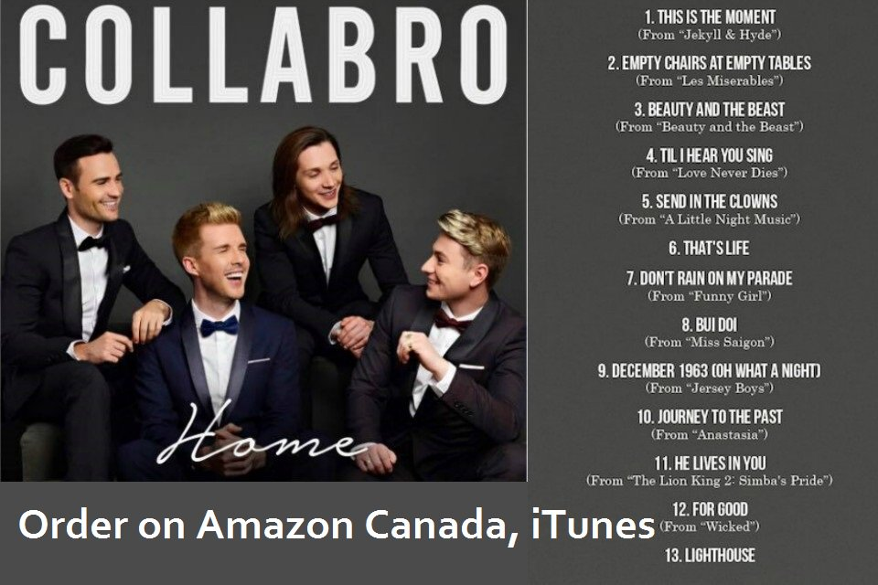 #HOME is the best album ever from @Collabro the world&#39;s #1 #MusicalTheatre group, listen to this  https://www. youtube.com/watch?v=QCtgQD qykSI &nbsp; …  …everyone loves it<br>http://pic.twitter.com/o71ZayaKTe