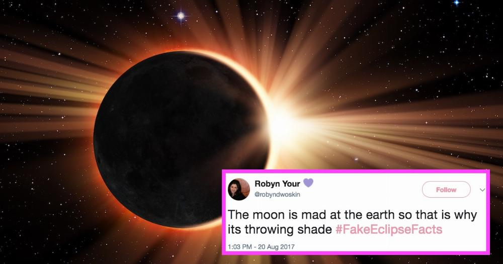 Impress your friends during the solar eclipse with Twitter's best #Fak...