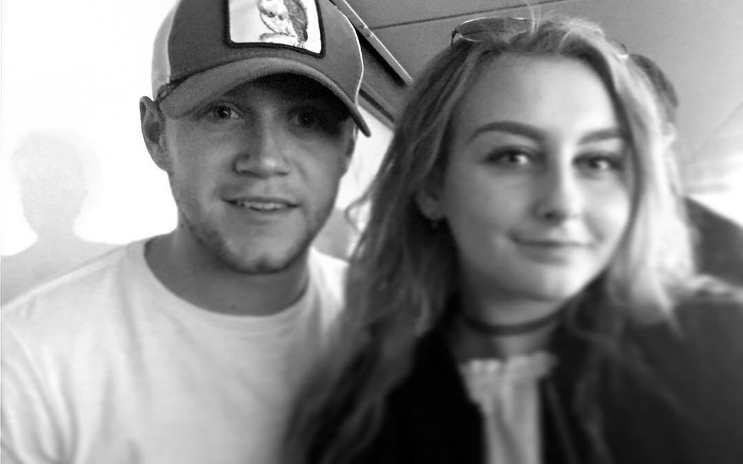 August 20th: Niall with sophie.nunn at the #CHETOT match at Wembley Stadium <br>http://pic.twitter.com/AxX8neZtnQ